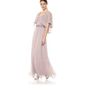 Alex evenings Tiered Flutter Sleeve Dress